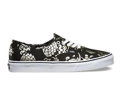 839828f3156fbb MENS GUYS VANS AUTHENTIC 50th ANNIVERSARY BLACK GOLD SHOES SB SNEAKERS NEW   65