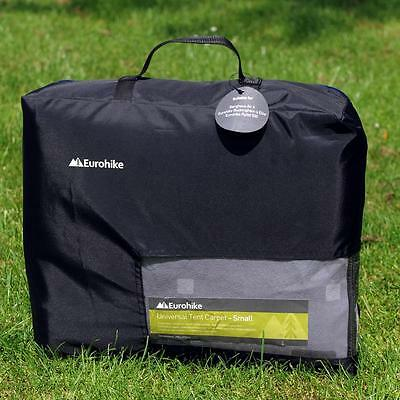 Eurohike Tent Carpet - Small Grey One Size