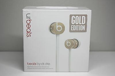 Beats by Dr. Dre Urbeats In-Ear Wired Headphones -Gold Edition