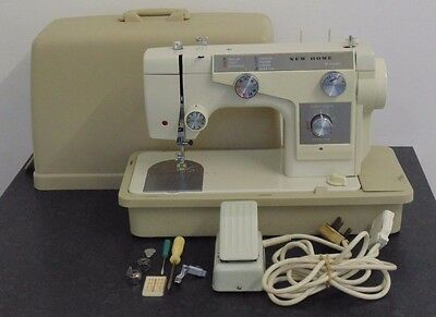 Janome New Home Electric Sewing Machine Heavy Duty Leather Sail Embroidery 690