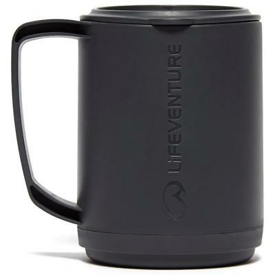 LIFEVENTURE Ellipse Insulated Mug Grey One Size