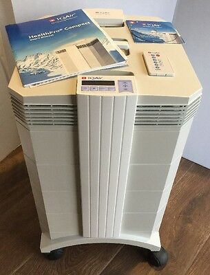 IQAir New Edition HealthPro Compact HyperHEPA Air Purifier MINT CONDITION!