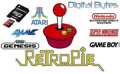 65.000 Retro pi Roms 32gb digital download