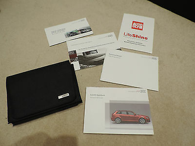 Audi A3 Sportback 2009 - Owners Pack / Users Manual / Instruction-102.561.8Pa.20
