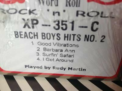 JERSEY BOYS   3  Selections  BRAND NEW L/ PLAY PIANOLA PLAYER PIANO ROLL