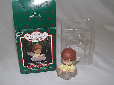 Hallmark Buttercup on Cloud Mary's Angels 1st in Series 1988 Ornament