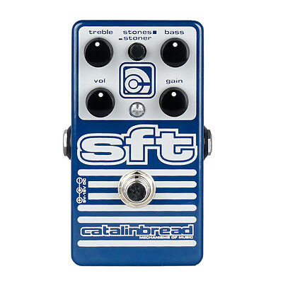 CATALINBREAD SFT Bass Overdrive Classic Rock Style Effect Pedal DEMO