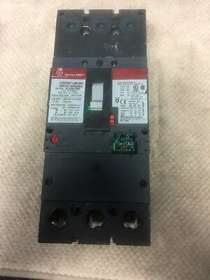 SFLA36AT0250, GE 250amp, 600volt, 3 pole Spectra RMS circuit breaker