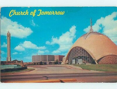 Pre-1980 CHURCH SCENE Oklahoma City Oklahoma OK p4326