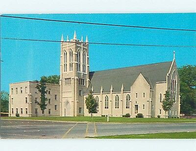 Unused Pre-1980 CHURCH SCENE Lexington Tennessee TN p3317