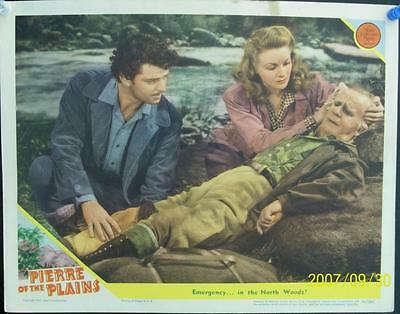 Evelyn Ankers Henry Travers  Pierre Of The Plains Original Mgm Us Lobby Card