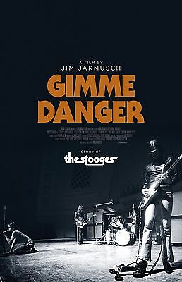 The Stooges poster - 11 x 17 inches - Gimme Danger movie poster
