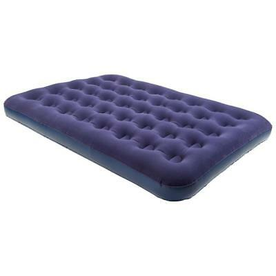 Eurohike Flocked Double Airbed Navy One Size