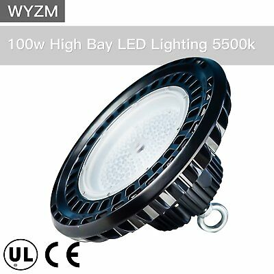UFO LED High Bay Warehouse Light Bright White Fixture Factory 300W Equivalent