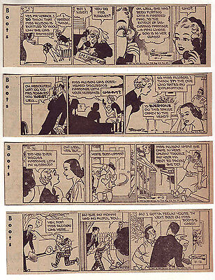 Boots by Edgar Martin - 30 daily comic strips - Complete April 1957