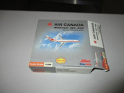 StarJets /  Schuco   Air Canada 727-200 1:500  Limited edition