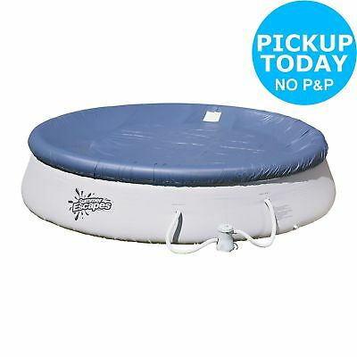 Quick Up White Pool Set and Cover - 10/12FT.From the Official Argos Shop on ebay