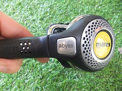 Mares Abyss scuba diving diving octopus occy alternate with miflex lp hose