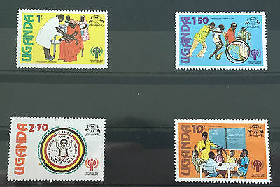 MINT stamps - Uganda 'Year of the Child' 1979