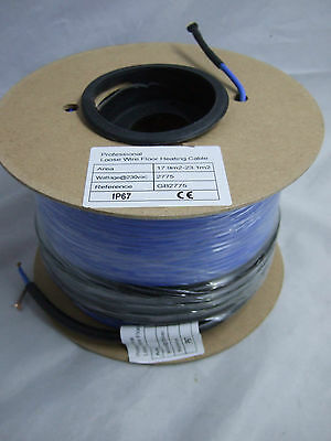 Electric Underfloor Heating Loose Cable 17.9 - 23.1m2