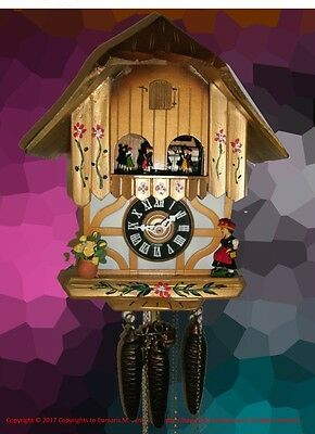 Golden Lady & Roses Classic Musical Cuckoo clock #40