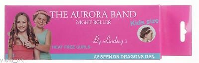 The Aurora Band Night Roller KIDS Natural Hair Curls Sleeping Roller Hair Band