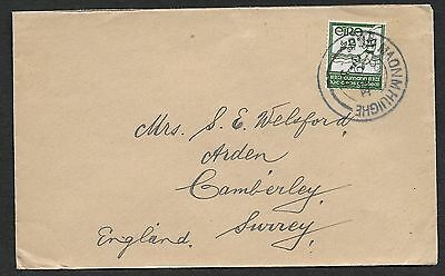 1934       DUNMANWAY CANCEL ON  2d G A A    Plain