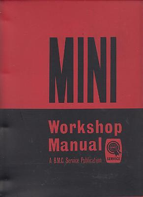 Mini Mk1 850 Cooper & Cooper S 1959-1964 Original Factory Workshop Manual