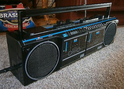 Vintage BOOTS SSR 77T Twin cassette radio recorder