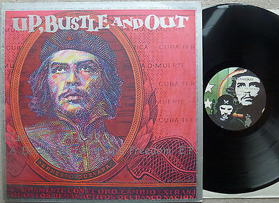 """RARE~UP, BUSTLE AND OUT~Carbine 744,520/Che Guevara~NINJA TUNE 12"""" INSERT~EX/EX"""