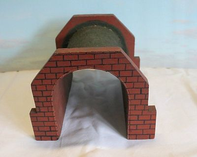 O Gauge Wooden Tunnel Well Made Unknown Maker Vintage