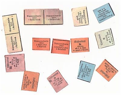 General Government lot GERMAN-WWII-RATION-CARDS  antique