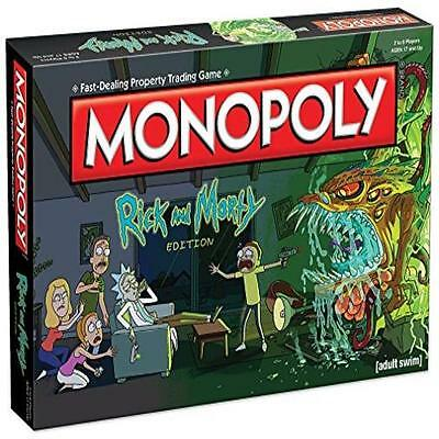 Monopoly Rick & Morty Board Game Toy Play Usaopoly MYTODDLER New