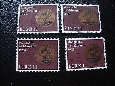 IRLANDE - timbre yvert et tellier n° 388 x4 obl (A33) stamp ireland