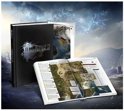 Final Fantasy XV  Official Guide Collector's Edition Game Worldwide Shipping!