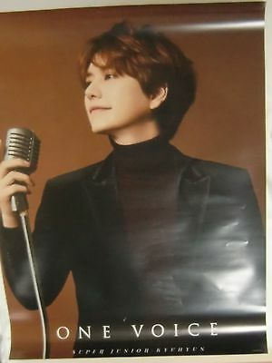 SUPER JUNIOR-KYUHYUN ONE VOICE B2 Poster Japan Official