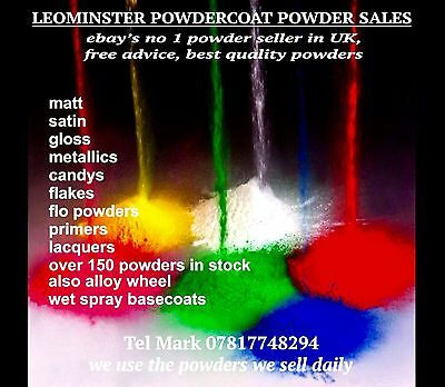 Powder coat powder  Acrylic Crystal Clear Lacquer 500g bag Awesome