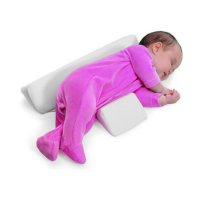 Infant Sleep Pillow Support Wedge Adjustable Width Anti Roll Cushion