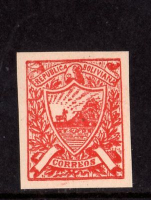 Bolivia Riester Essay Local Stamp,mentioned In Melville,ex Czyl