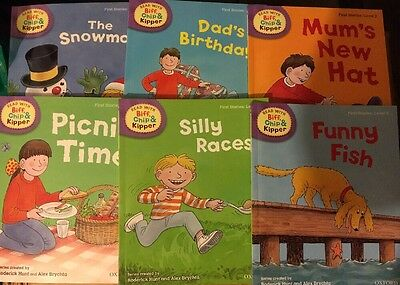 Oxford Reading Tree Biff, Chip & Kipper Level 2 First Stories 6 Books NEW RP £30