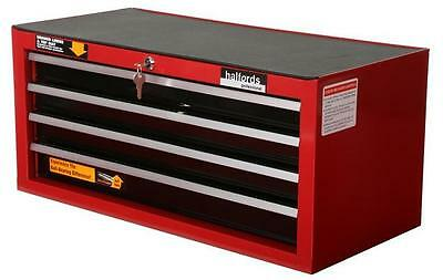 Halfords Professional 4 Drawer Intermediate Ball-Bearing Tool Chest New Guarante