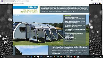 Rally Air Kampa Awning 390