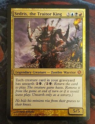 Mtg sedris, the traitor king good condition