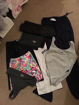 Women's Sports Gym Clothing Bundle Size 14 Adidas Nike Reebok