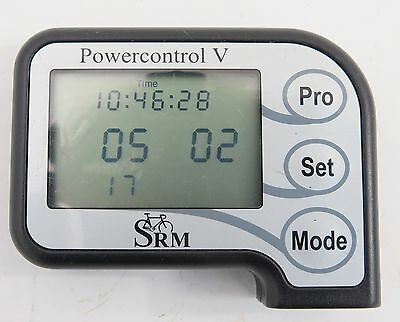 SRM PowerControl V control unit black gray wire newly serviced 4