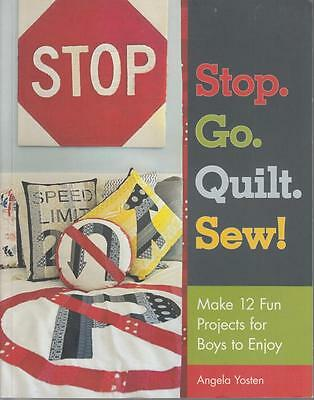 Quilt Sewing Pattern Book For Boys - 12 Projects - See Photos - New