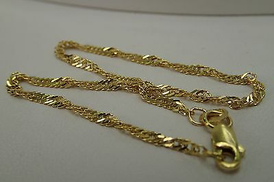 10K Bracelet Yellow Gold Singapore style