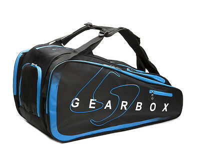Gearbox Racquetball PRISM Club Bag in Black / Blue
