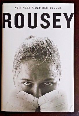 RONDA ROUSEY : MY FIGHT / YOUR FIGHT - Hardcover Book Biography 2015 UFC NEW