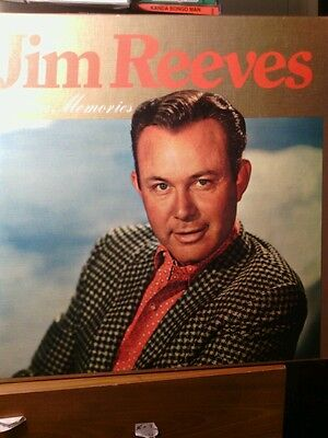 Jim Reeves ~ Golden Memories ~  Boxed Set~(6 Lps) World Record Club ~ Excellent